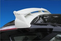ABS PRIMER CAR REAR TRUNK LID AERO WING SPOILER FOR Ford Focus 2 Hatchback RS Style 2005 2014 Fast by EMS (With Lmp)