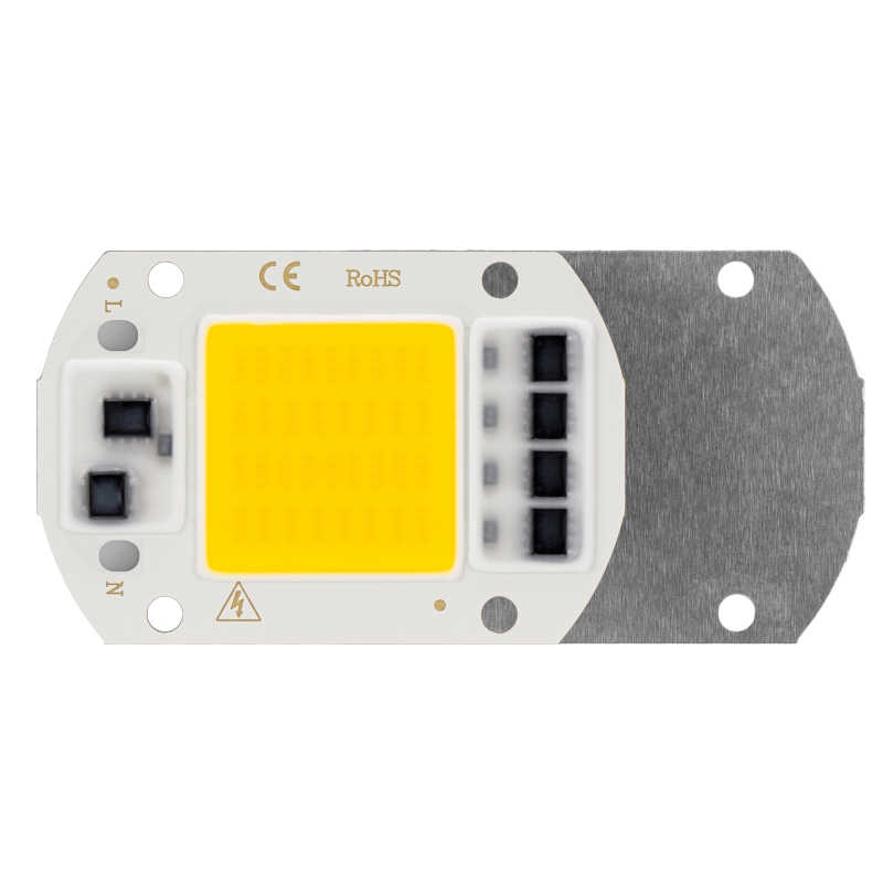 10 STUKS LED COB Chip AC 220 V 50 W 30 W 20 W Smart IC Geen Behoefte Driver Hoge helderheid LED Licht Kralen DIY Voor Flood Light Spotlight