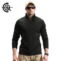 CQB Tactical Thermal Shirts Brand Shirts Men Outdoor Sports Hiking Camping Quick-Dry Long Sleeves Fleece Clothes SY0065