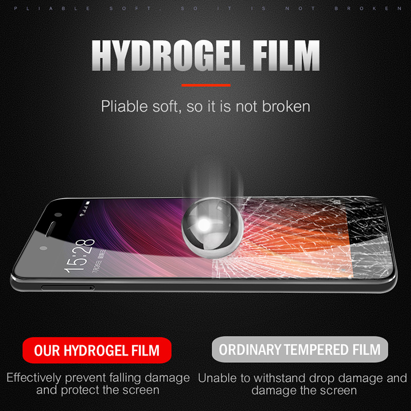 Image 4 - ZNP 4D Full Cover Soft Protective Hydrogel Film For Xiao Redmi 4X 5A 4A Screen Protector For Redmi Note 5 5A Redmi 5 Plus Film-in Phone Screen Protectors from Cellphones & Telecommunications