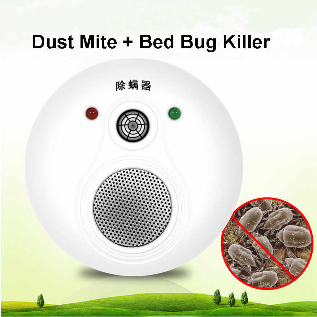 Dust Mite & Bed Bug Killer Controller Sterilization Mite Repeller Electric Bedroom Pest Control For Child Baby Room Bed Sofa