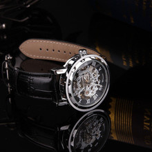 Excellent Quality Luxury Automatic Mechanical Skeleton Dial Stainless Steel Band Wrist Watch Men Women Best Gift