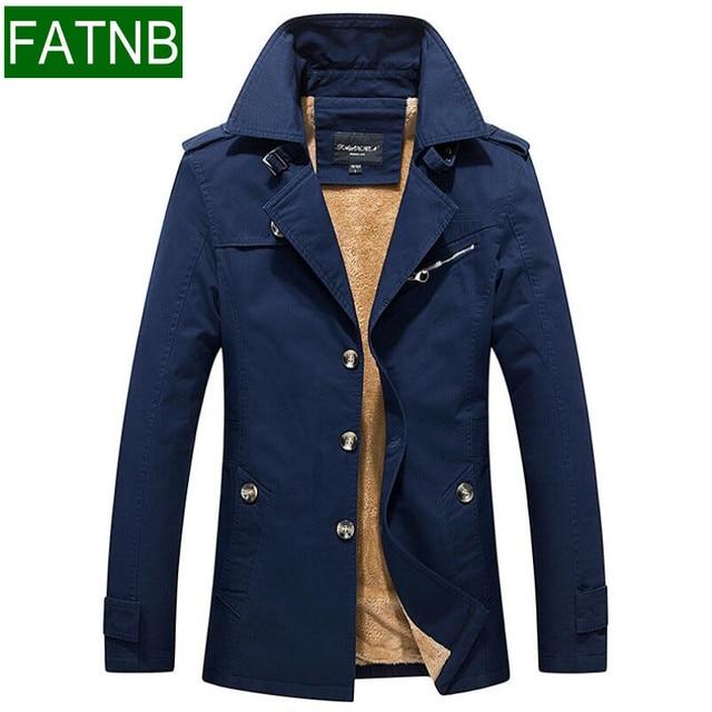 cabc728adde3 Giacche invernali Uomini di Marca Abbigliamento Uomo Cappotto Slim Fit  taglia M-5XL Altezza Caldo
