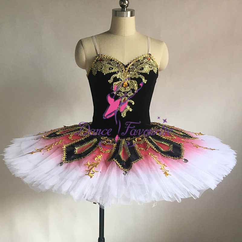 Stunning design women and girl professional ballet tutu customer size made pancake tutu ballerina dance costume tutu