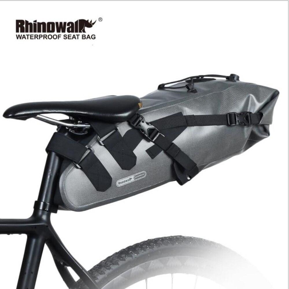 New Full Waterproof Bike Bag 100% Rainproof Bicycle Accessories Saddle Bag Cycling Mountain Bike Back Seat Rear Bag стоимость