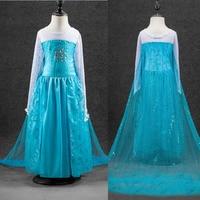 High Quality Elsa Anna Girls Princess Children Dress Party Kids Fantasia Vestidos Infants Baby Dresses Baby