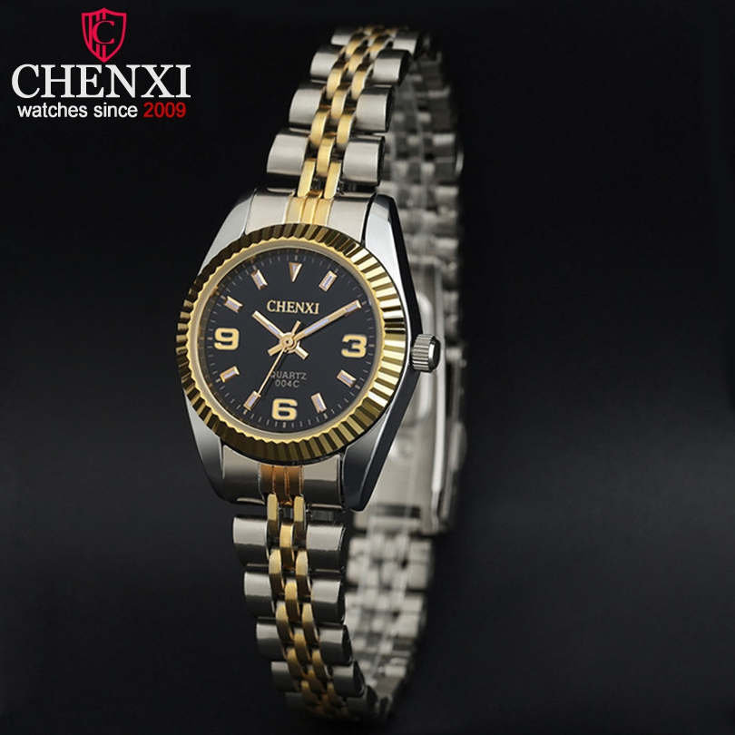 2018 CHENXI Fashion Women Watches Quartz Analog Wrist Small Dial Stainless Steel Delicate Watch Luxury Watches relogio feminino 1 pair gloss black front kidney grilles grill car styling racing grills replacement grilles for bmw f30 f31 f35 320i 2012