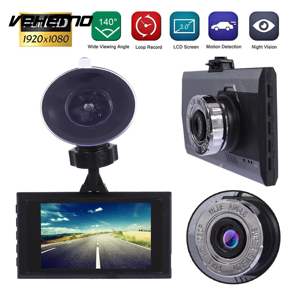 2018 Dash Cam Car DVR with 32G Card Reader Automobile Motion Detection Driving Recorder Support 32G TF