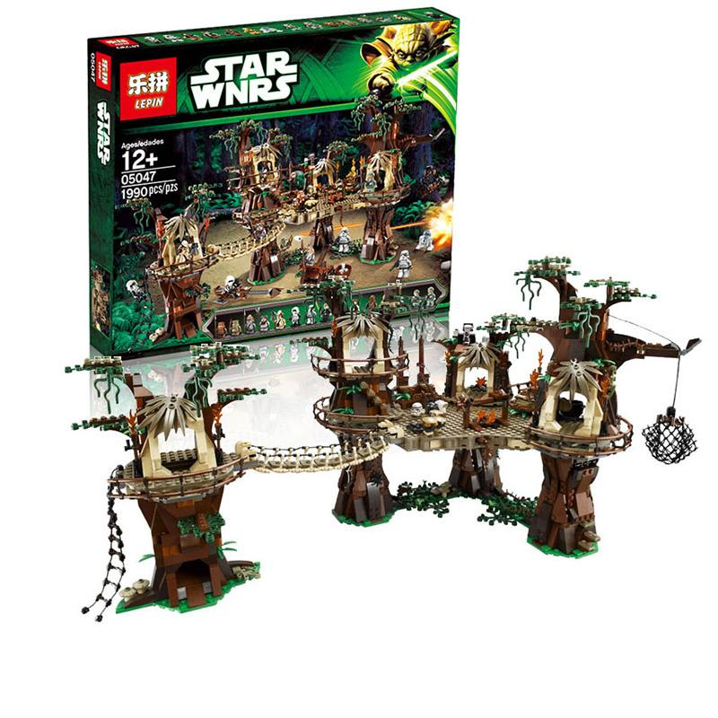 Star wars 05047 E Village wok Model Building Block Brick Educational Toy For Children Compatible 10251 Birthday Gift large block black pearl model ship set 3d block brick plastic diy building blocks gift children compatible educational toy