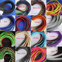 "3MM Wide 1/8"" TIGHT Braided PET Expandable Sleeving Cable Wire Sheath Black/Red/Orange/Yellow/Green/Blue/Purple/Gray/White/Clear(China)"