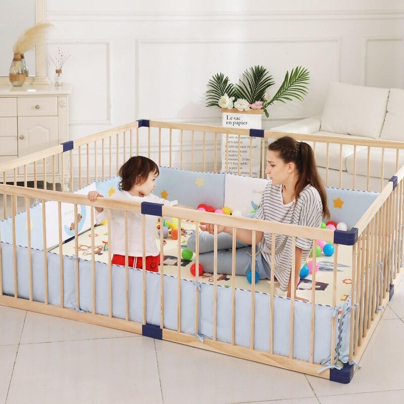 Jolly bébé enfants entourant bébés Ins pare-brise pur coton protection coton entourant bébés tapis de protection en coton