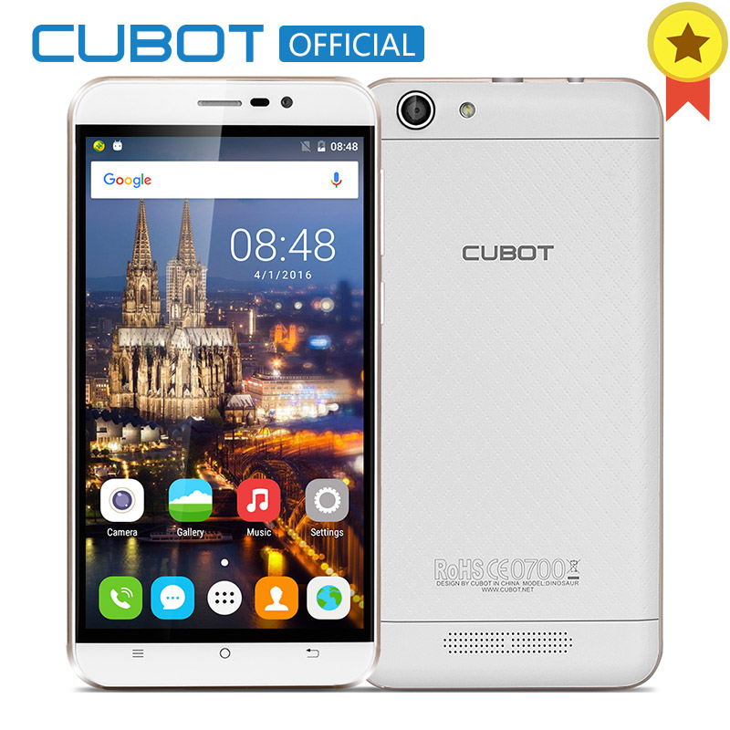 Cubot Dinosaur MTK6735A Quad Core Android 6 0 Smartphone 5 5 Inch 4150mAh Cell Phone 3GB