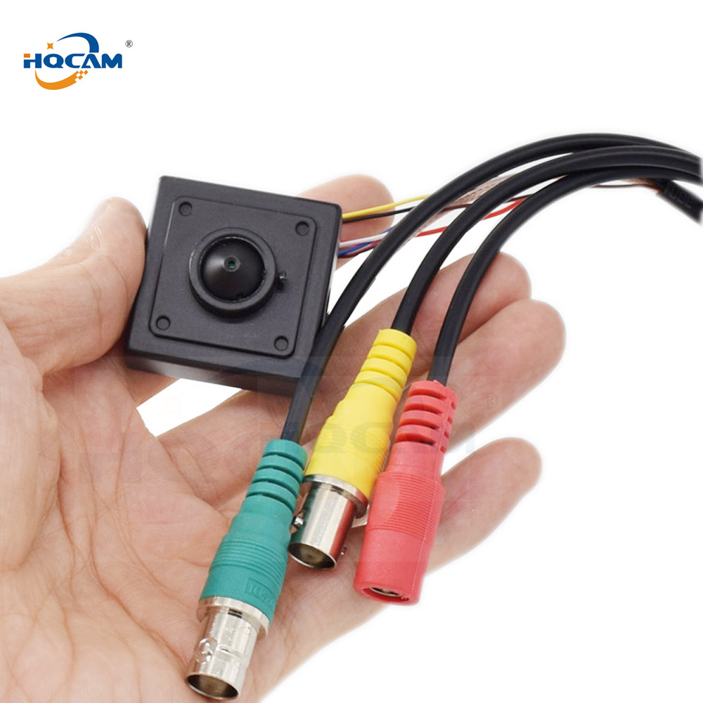 HQCAM SDI mini camera 2.0MPixels 1080P 1/3 Panasonic Cmos SensorP Full Hd Sdi Mini Camera With OSD Menu 34 34mm minature size 2 8 12mm lens panasonic 1080p full hd super mini hd sdi camera with osd menu cvbs
