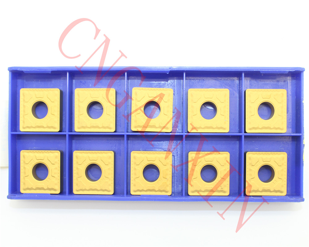 10pcs CNGANXIN SNMG190612 PM YBC251 CNC Turning Tool Carbide insert For Steel