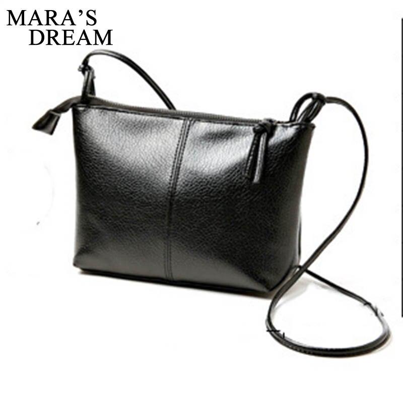 Mara's Dream 2019 New Summer Women's Bag Tide Simple Wild Soft Face Washed Leather Small Square Bag Messenger Bag Shoulder Bag