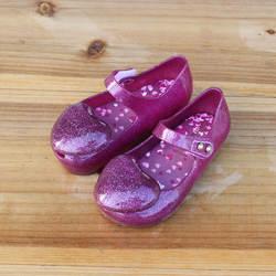 Мини Мелисса 2018 новые Цвет любовь прозрачная обувь принцессы обувь мягкие детские сандалии для девочек Нескользящие Детские сандалии