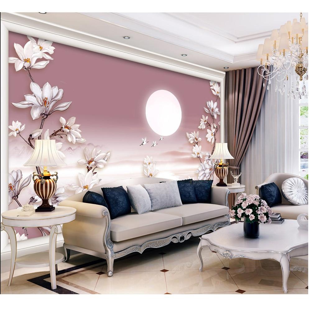 ᗜ lj Gambar Dalam Gambar 3d Kustom Mural Diy Wallpaper Dinding