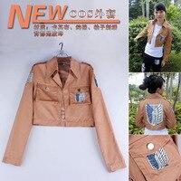 Attack On Titan Jacket Shingeki No Kyojin Jacket Legion Cosplay Costume Jacket Coat Any Size High
