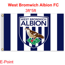 West Bromwich Albion FC decoration Flag A 3ft*5ft (150cm*90cm)