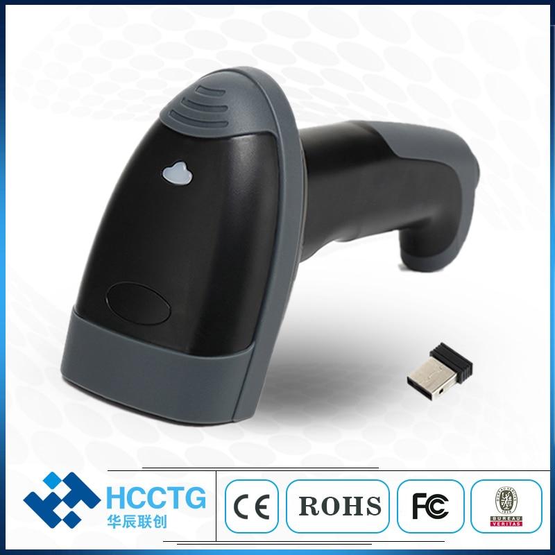 Scanner de Code à barres sans fil Bluetooth Portable 2D Handyscan pour HS-6413 de paiement