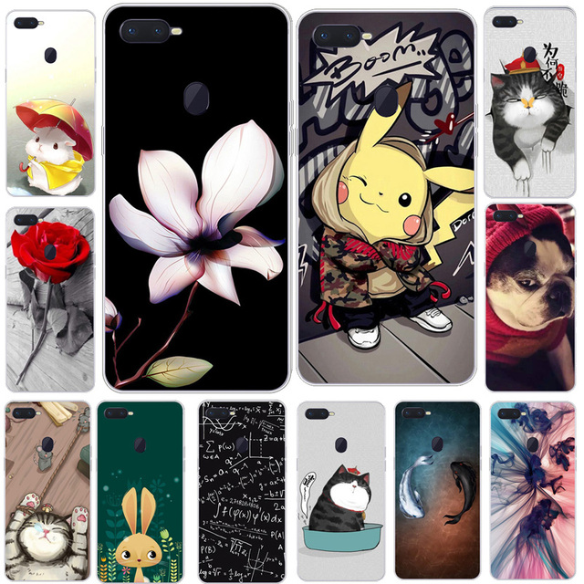 best loved 8cb86 28fb4 US $2.99 40% OFF For Oppo F9 Case Oppo F9 Pro Soft Silicone TPU Cartoon  Cover For Oppo F9 F 9 OppoF9 CPH1823 CPH1825 CPH1881 6.3 Phone Back  Cover-in ...