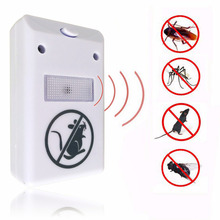 HOT EU PLUG Electronic Pest Repeller Ultrasonic Rejector Mouse Mosquito Rat Mouse Repellent Anti Mosquito Repeller killer Rode