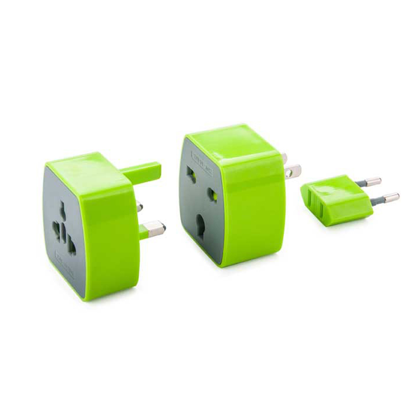 NEW Portable Travel Universal conversion socket power converters Quick Charge US EU EUR UK Plugs Adapter
