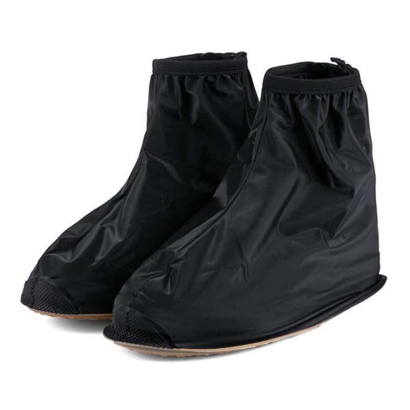 Waterproof Rain Reusable Shoes Covers, All Seasons slip-tahan Zipper - Aksesoris sepatu - Foto 2