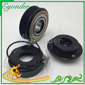 AC A/C Compressor de Ar Condicionado Embreagem Eletromagnética Magnético para BMW X5 E70 F01 F02 F03 F04 730d 740d 64529196889 DCP05077