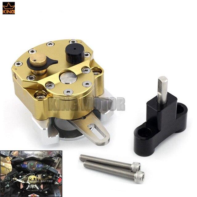 For HONDA VFR 800F VFR800 F 2014-2015 Motorcycle Accessories Adjustable Steering Damper Stabilizer with Mount Bracket