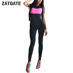 2017 workout bandage fitness jumpsuit splicing slim elastic bodysuit women rompers one piece set playsuit sexy.jpg 250x250