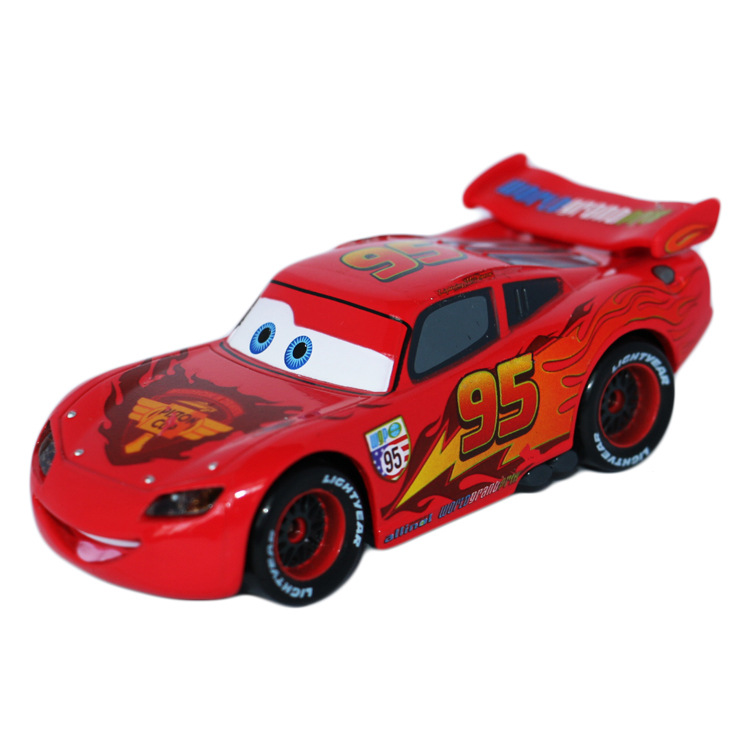 original cars 2 diecast metal alloy modle cute toys for children big size fire cars2 gifts anime cartoon kids dolls 11cm