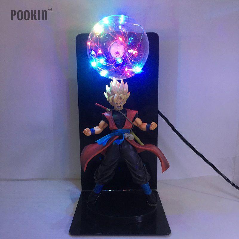 Новый Dragon Ball Сын Гохан прочность бомбы Luminaria LED Красочный Night светлый праздник подарок номер декоративное светодиодное освещение