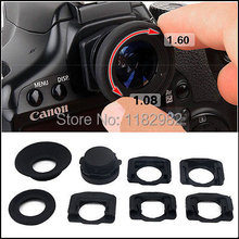 1.08x-1.60x Zoom Viewfinder Eyepiece Magnifier for Canon Nikon Pentax Sony Olympus Fujifilm Samsung Sigma SLR Cameras(China)
