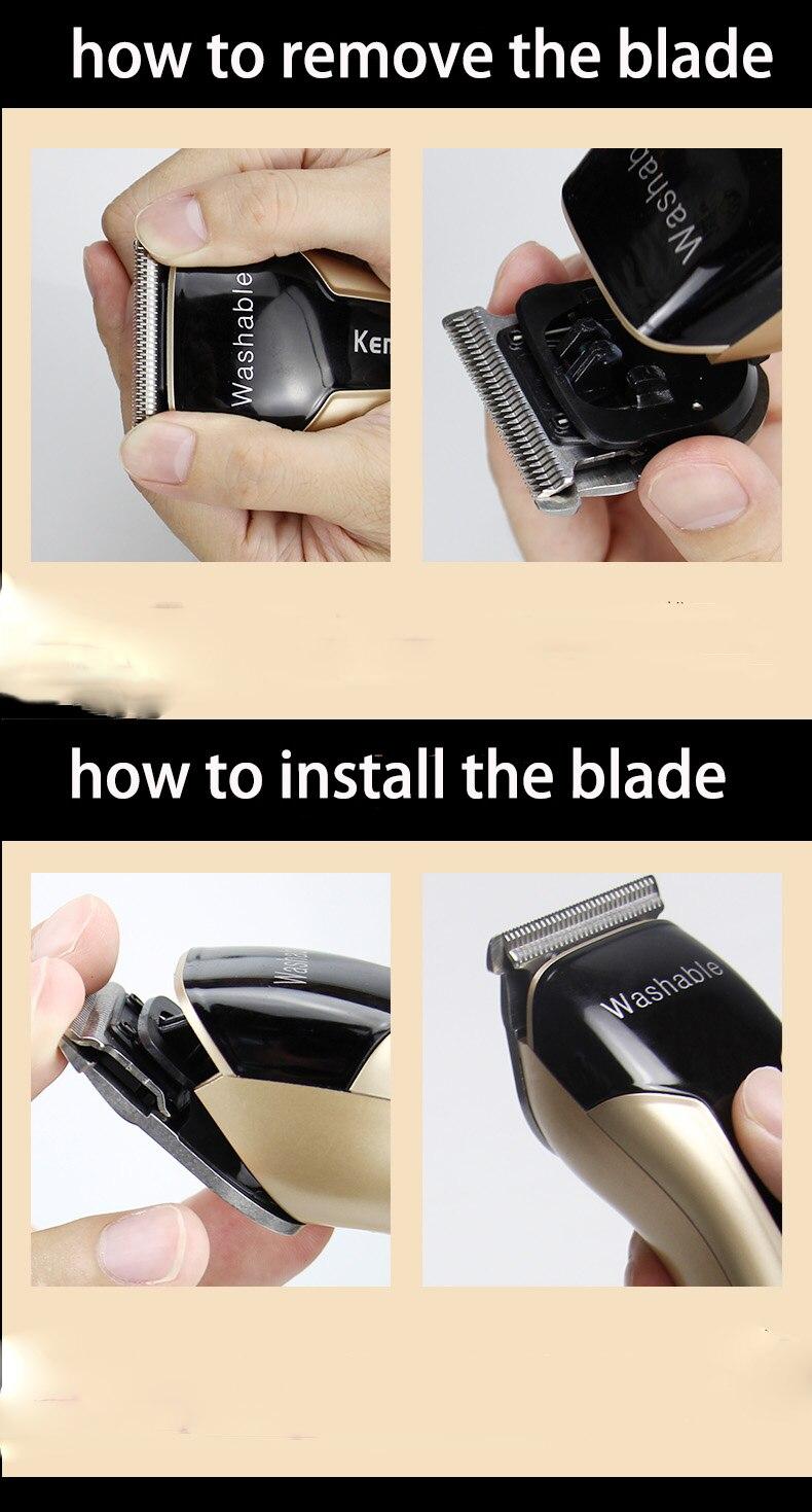 fade cutter máquina de corte de cabelo barbeiro
