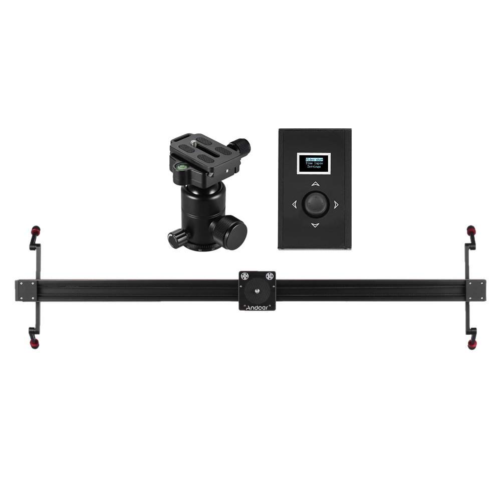 Andoer electric dslr camera slider motorized stabilizer Motorized video slider