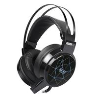 Stereo Gaming Headset for Xbox one PS4 PC Surround Sound Over-Ear Gaming Headphones with Mic Noise Cancelling LED Lights Headset
