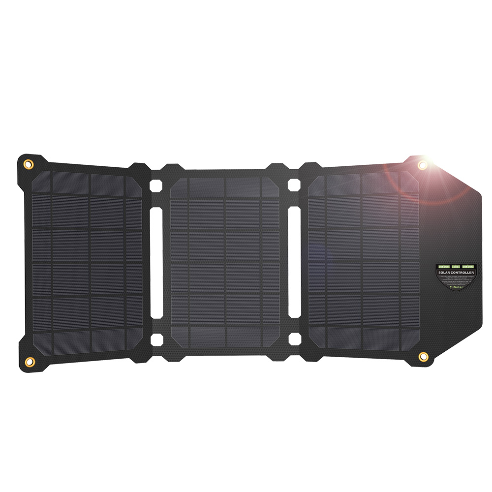 ALLPOWERS New Arrival Waterproof Solar Panels Charger Dual USB 5V for iPhone 7 8 X Xr Xs Xs max Huawei Xiaomi Samsung LG Sony.