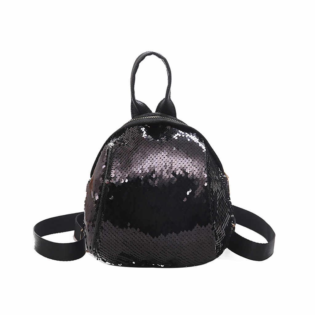 Coneed рюкзак Для женщин блестящие яркие и красивые модное платье с блестками и Повседневное путешествия рюкзак 2019 mar28 p30