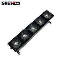 2017 HOT LED 5X10W Matrix Stage Lighting Five Heads LED Matrix Light 3 IN 1 RGB