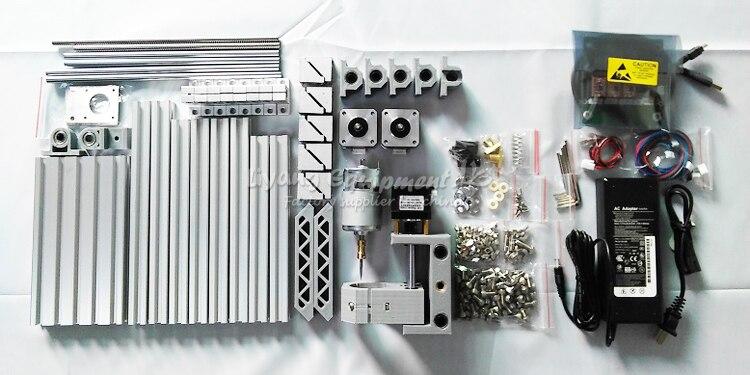 Mini CNC fraiseuse 1610 500 mw laser CNC graveur travail pour pcb bois pvc etc avec contrôle GRBL - 4