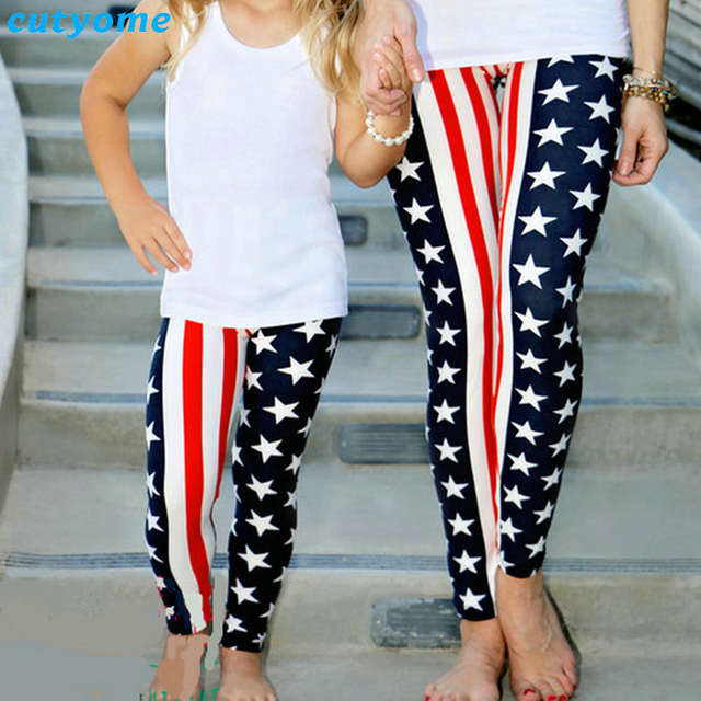 Online Shop Mommy And Daughter Matching Outfits Pants Family Look Mother  Daughter Sport Yoga Trousers Mommy Me Leggings Mommy And Me Clothes  0e9a26557