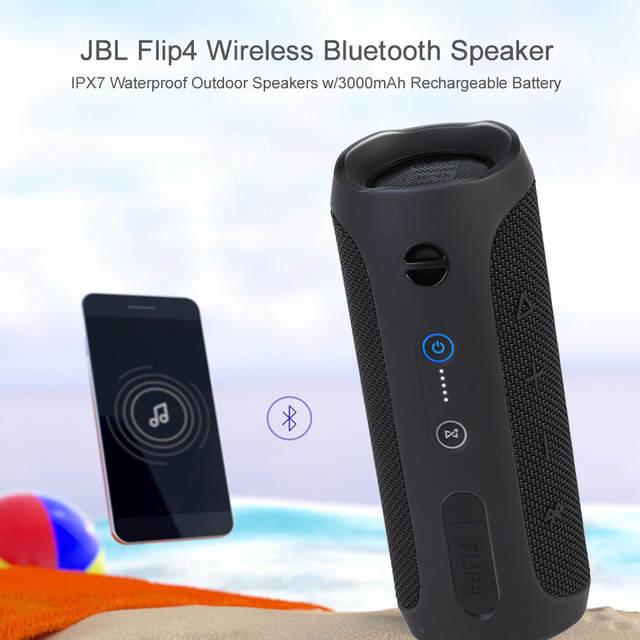 Jbl Outdoor Speakers >> Jbl Flip4 Wireless Bluetooth Speaker Music Kaleidoscope 4 Ipx7 Waterproof Outdoor Speakers W 3000mah Rechargeable Battery