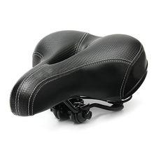 Велосипедное большое сиденье для горного велосипеда, велосипедное седло, широкая мягкая подкладка, удобная подушка