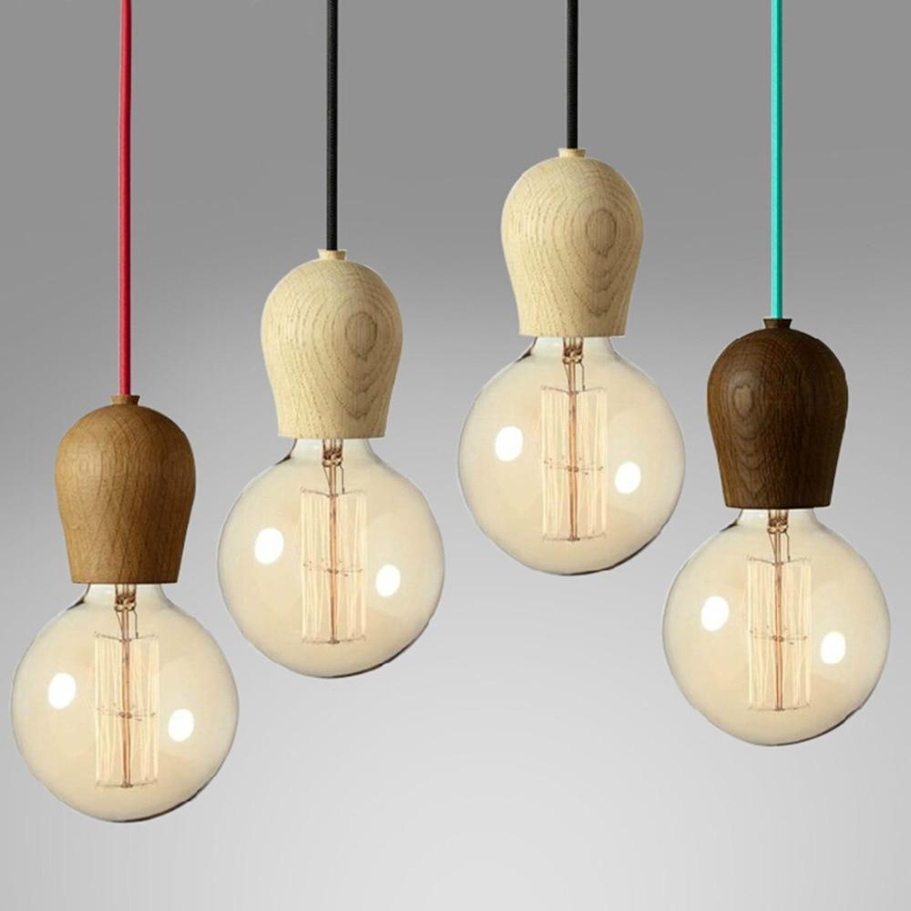 diy lighting design. Interesting Lighting Single Head DIY Wooden Droplight E27 Japanese Design Colored Wire Pendant  Light Retro American Country Loft Lightingin Lights From  On Diy Lighting AliExpresscom