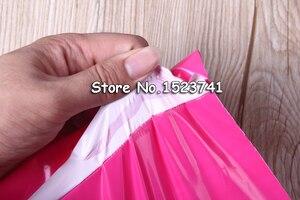 Image 2 - 100PCS Pink Color Envelope/mailing bag/Courier Mailer Express Bag 17*30cm/25*35cm