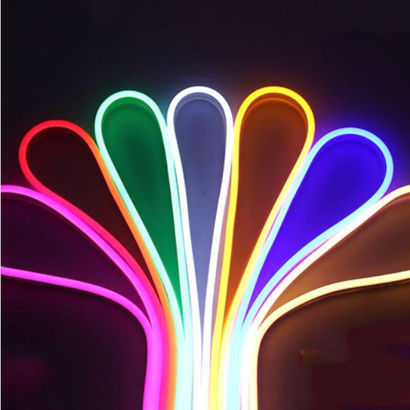 HA CONDOTTO LA Luce di Striscia Flessibile 220 V tubo di SMD 2835 HA PORTATO Al Neon della flessione 120led IP67 Impermeabile della corda della stringa di lampada Lampade escursione e campeggio UE spina di alimentazioneHA CONDOTTO LA Luce di Striscia Flessibile 220 V tubo di SMD 2835 HA PORTATO Al Neon della flessione 120led IP67 Impermeabile della corda della stringa di lampada Lampade escursione e campeggio UE spina di alimentazione