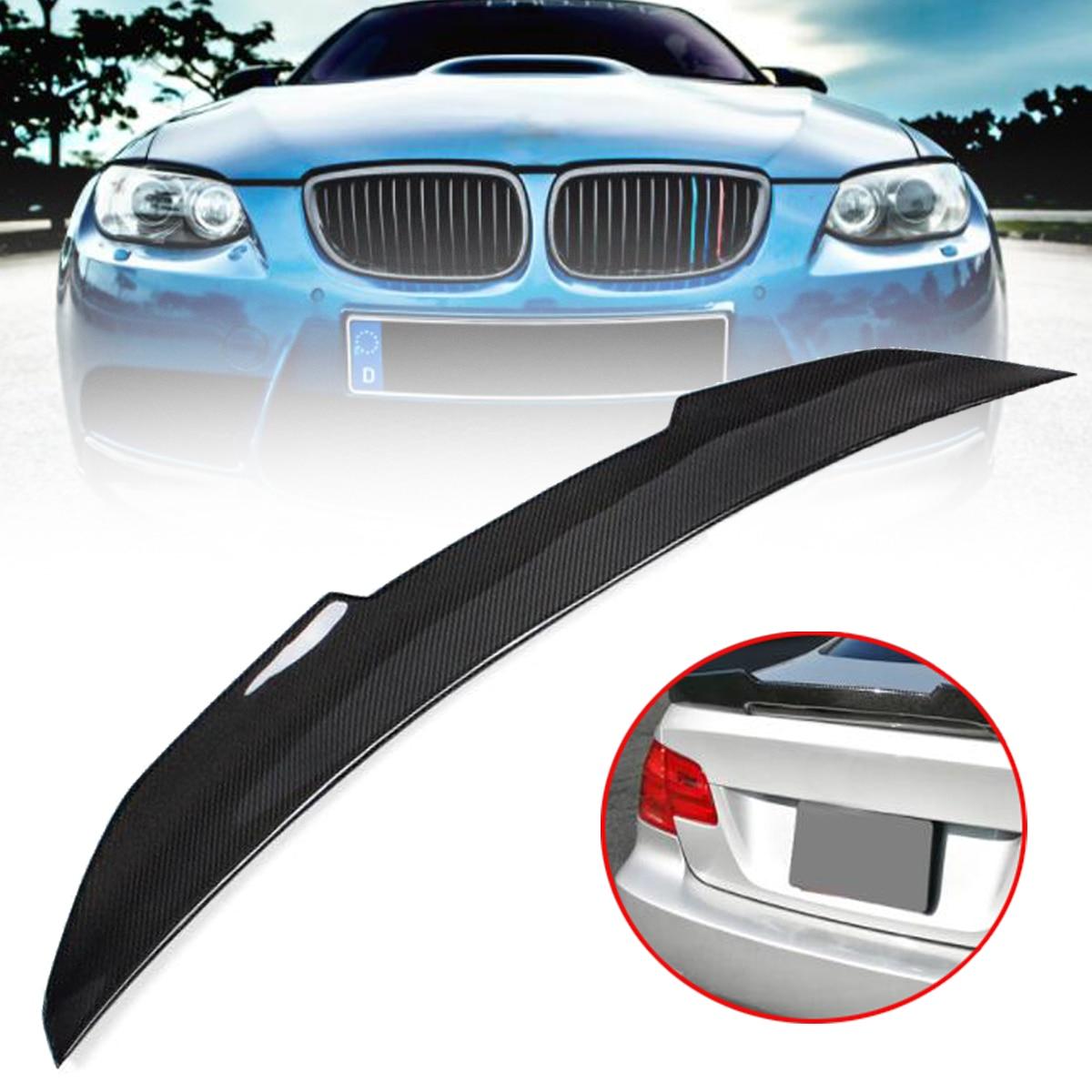 Haute qualité Réel En Fiber De Carbone Tronc Spoiler Aile PSM Style Highkick Pour 07-12 pour BMW E92 335i 328i 3 SÉRIE 2 PORTE COUPÉ