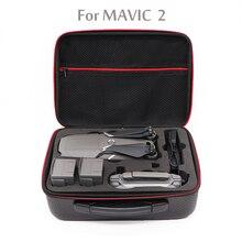 DJI MAVIC 2 Чехол-сумка из искусственной кожи водонепроницаемый портативный Mavic 2 Zoom чехол для переноски сумка Mavic 2 Pro Чехол Аксессуары для Дронов