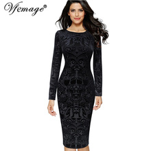 Women's dress Vfemage Womens Elegant Vintage